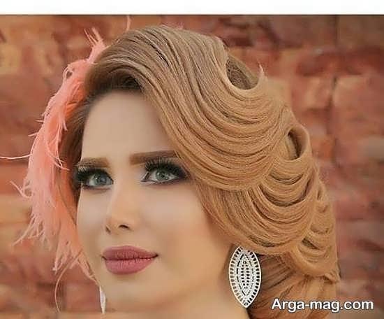 مدل جذاب میکاپ عروس