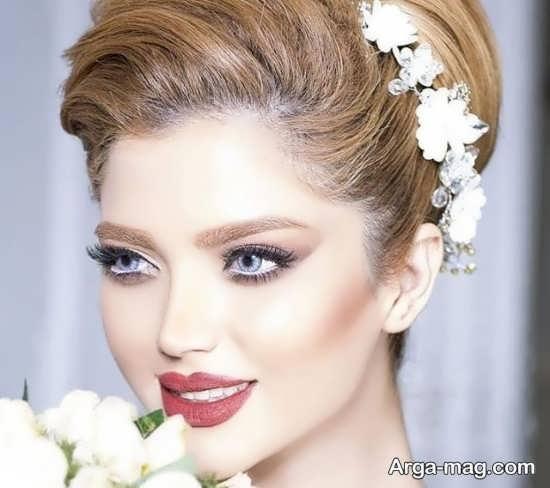 تصاویری از مدل میکاپ عروس