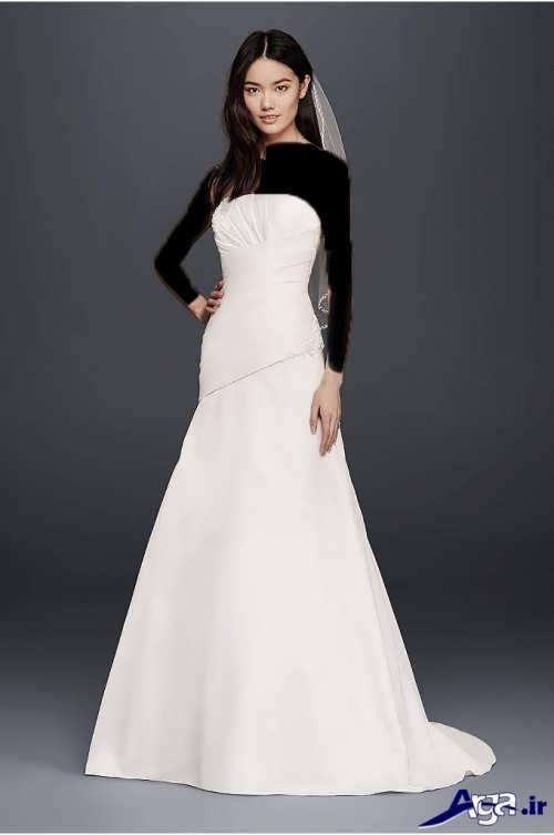 لباس عروس شیک و جدید ساتن