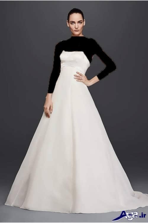 لباس عروس شیک و جذاب ساتن