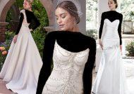 مدل لباس عروس ساتن شیک