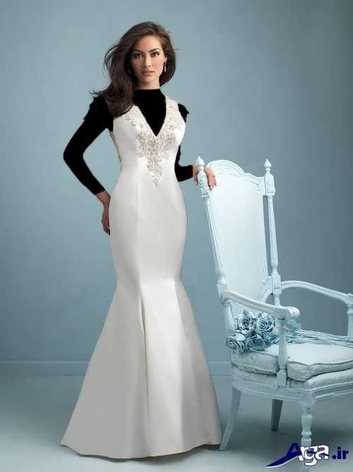 لباس عروس شیک ساتن