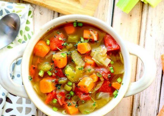 طرز تهیه سوپ رژیمی در منزل