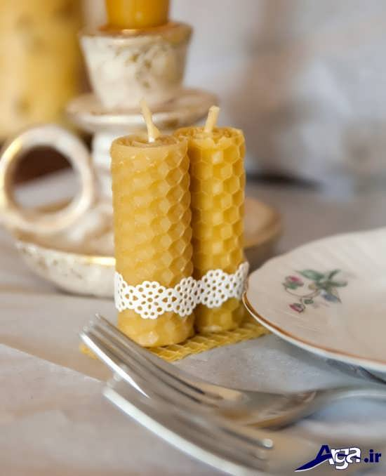 انواع طرحهای زیبا برای شمع