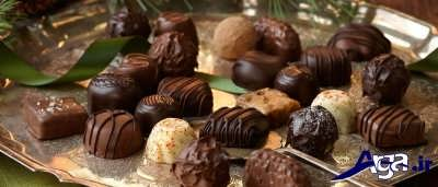 طرز تهیه شکلات تلخ
