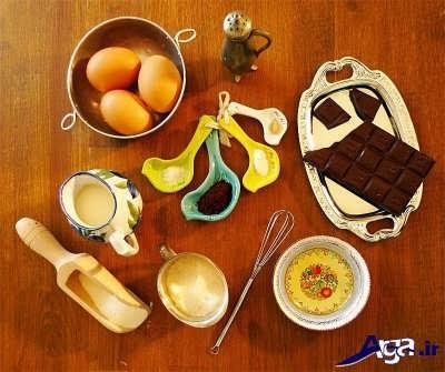 مواد اولیه برای تهیه شکلات تلخ