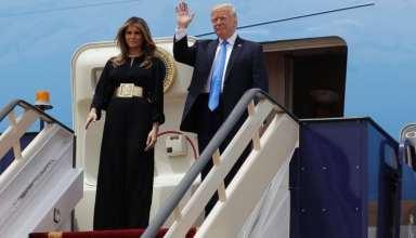 لباس همسر و دختر ترامپ