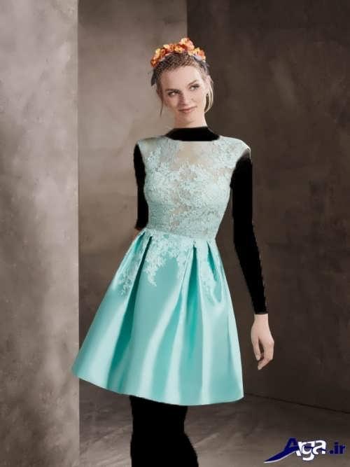 مدل لباس مجلسی کوتاه و شیک