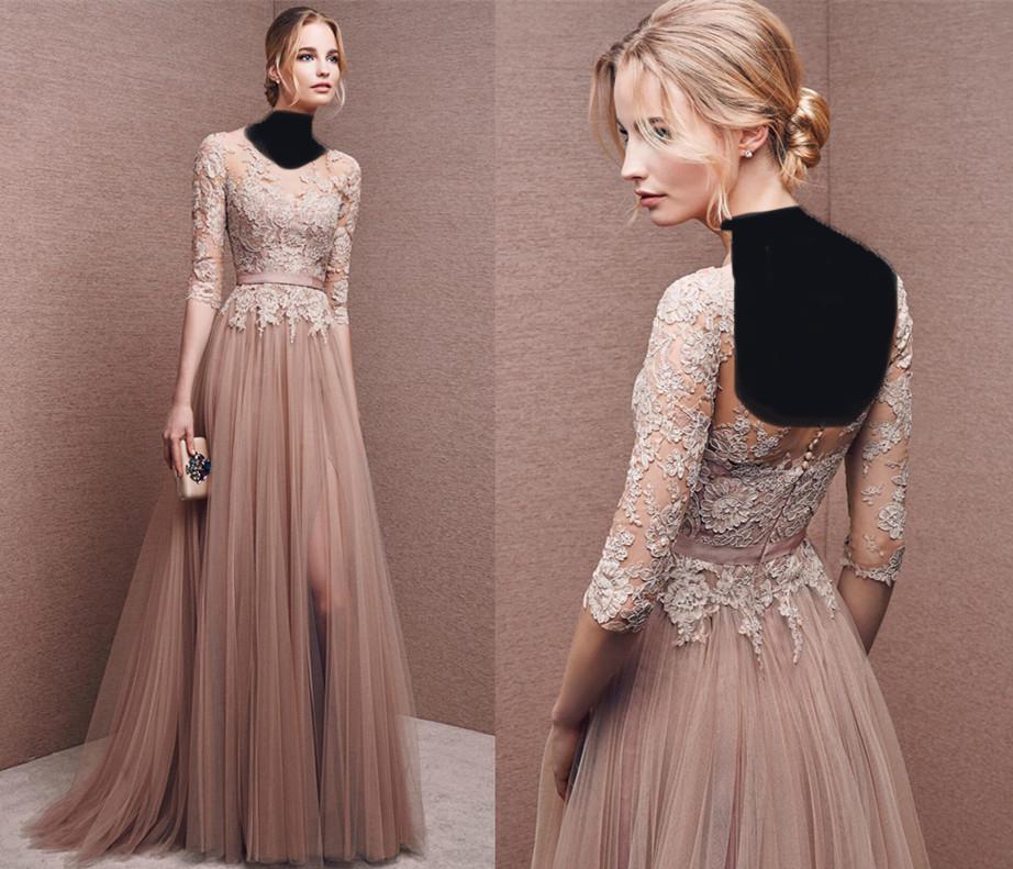 مدل مانتو دانتل سال 2017 مدل لباس مجلسی دانتل دار کوتاه و بلند بسیار زیبا و جذاب