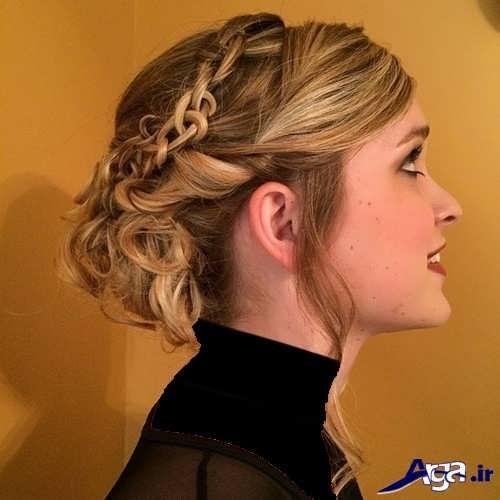 مدل مو دخترانه مجلسی