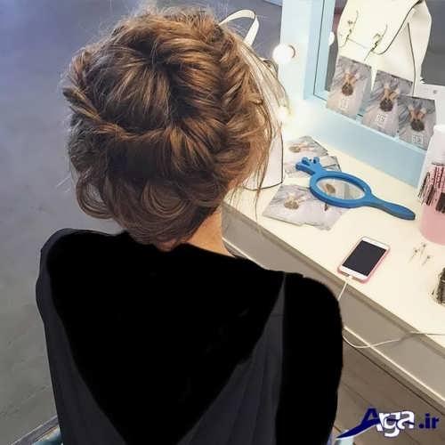 مدل موی بسته مجلسی دخترانه جدید و شیک