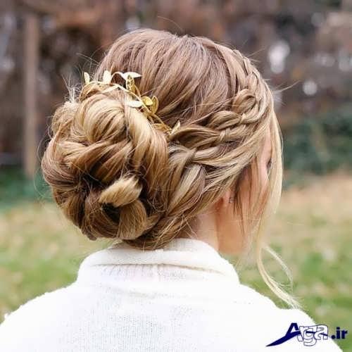 مدل موی بسته و جذاب دخترانه