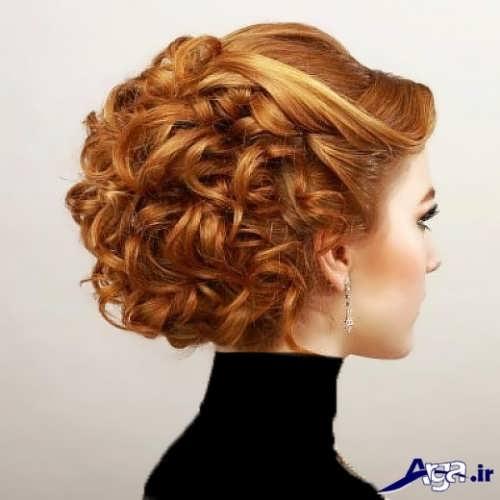 مدل مو بسته مجلسی دخترانه