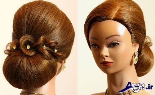 مدل موی شیک و بسته مجلسی