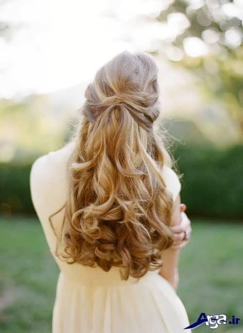 مدل مو باز مجلسی دخترانه
