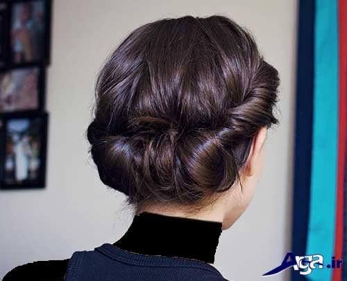 مدل موی مجلسی دخترانه بسته و جذاب