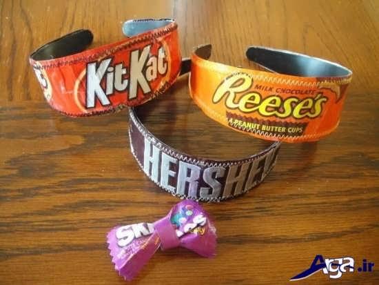 انواع چیزهای مهیج برای بچه ها با پوست شکلات