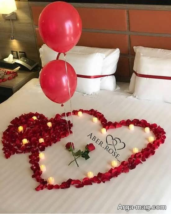 ایده هایی برای تزیین اتاق خواب عروس
