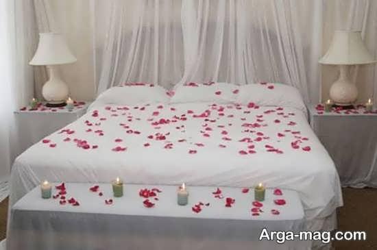 دیزاین تختخواب عروس و داماد