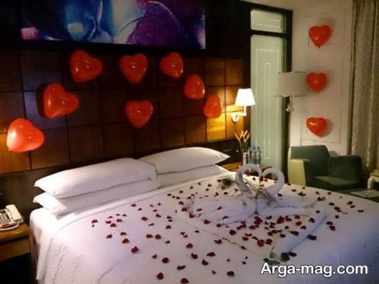 دیزاین زیبایی اتاق خواب عروس