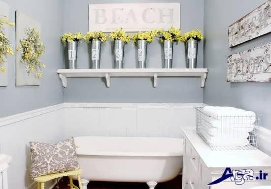 تزیین حمام و سرویس بهداشتی شیک و زیبا