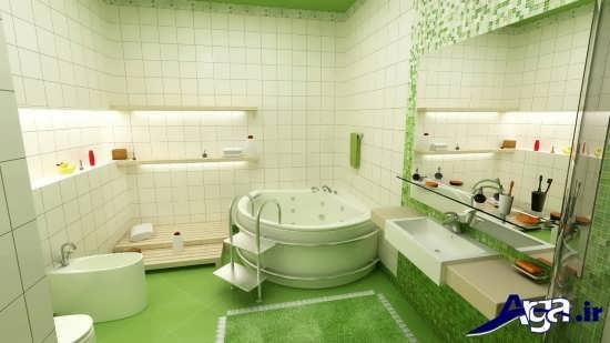 حمامهای شیک با زیباترین تزیینات