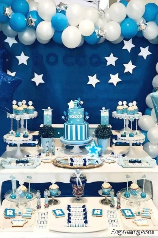 تزیینات زیبای جشن تولد پسرانه