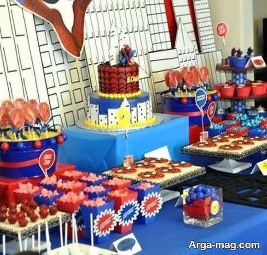 تزیینات جشن تولد پسرانه