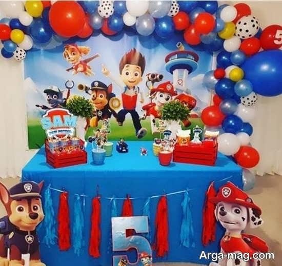 ایده تزیین جشن تولد پسرانه