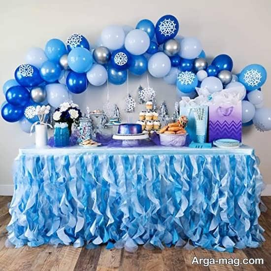 دیزاین جشن تولد پسرانه کودک