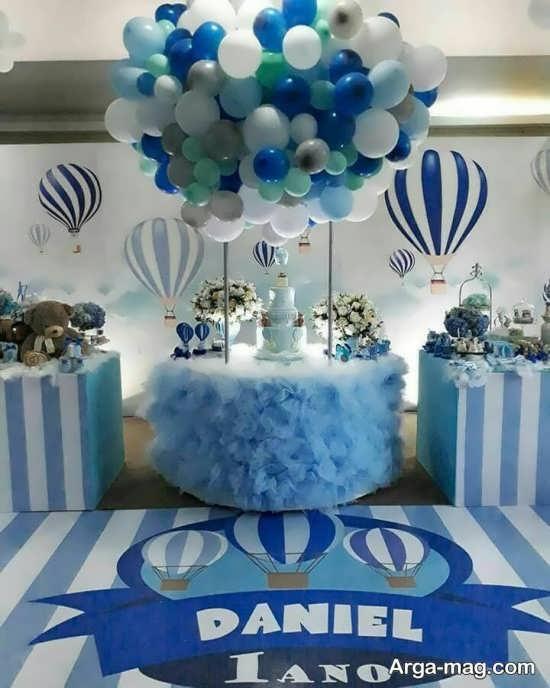 تصاویری از دیزاین جشن تولد پسرانه