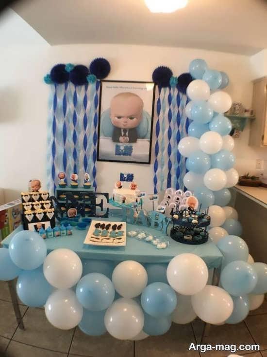 تزیینات جشن تولد پسرانه لاکچری