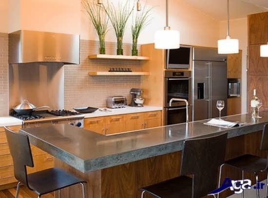 طراحی مدرن آشپزخانه های کوچک