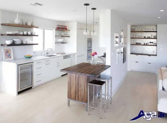 انواع دکوراسیون در آشپزخانه های کوچک