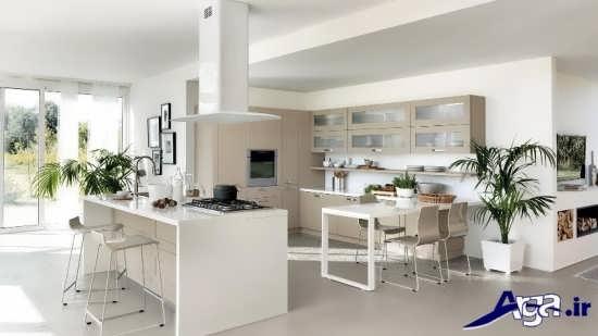 دکوراسیون مدرن آشپزخانه های کوچک