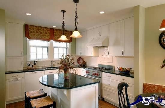 دکوراسیون زیبا آشپزخانه های کوچک