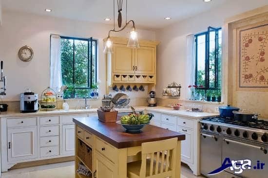 چیدمان وسایل در آشپزخانه های کوچک