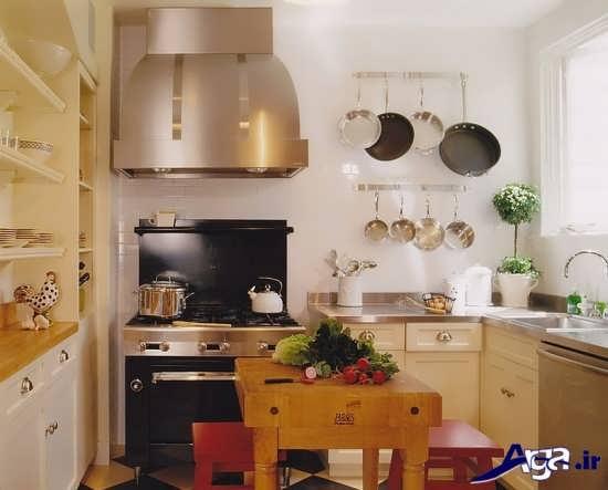 انواع دکوراسیون آشپزخانه های کوچک