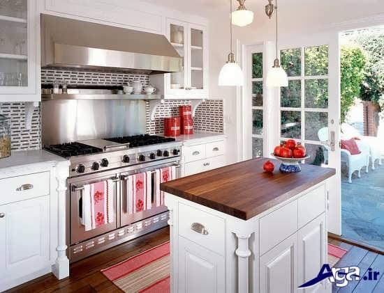 دکوراسیون شیک آشپزخانه های کوچک
