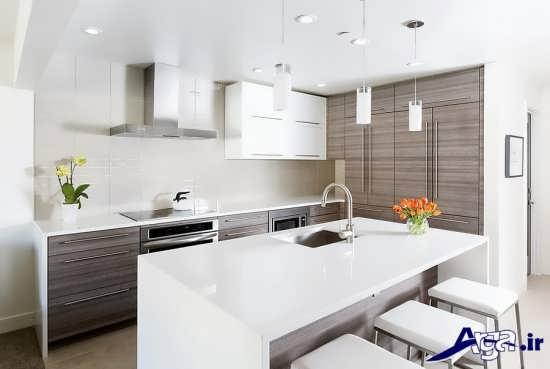 دکوراسیون آشپزخانه جدید و کوچک