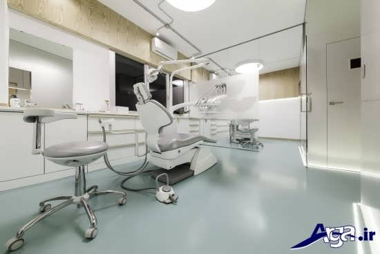 انواع طرح و دیزاین داخلی برای مطبهای دندانپزشکی
