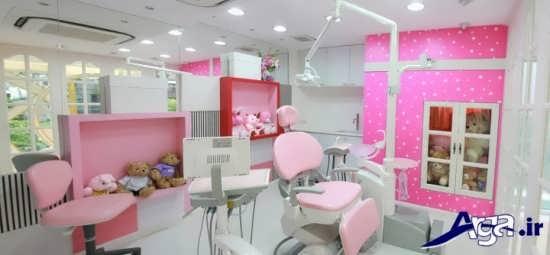 دکوراسیون مطب دندانپزشکی شیک و جدید