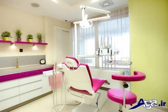 طرح دکوراسیون داخلی مطب دندانپزشکی