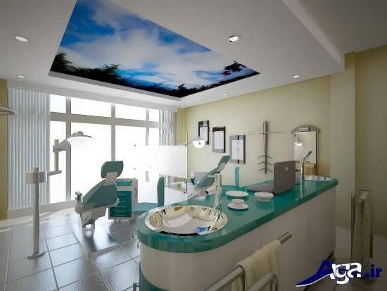 دیزاین داخلی مطب دندانپزشکی