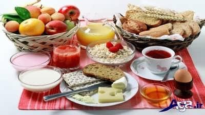 وعده های غذایی ماه رمضان