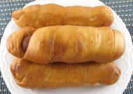 طرز تهیه پیراشکی سوسیس