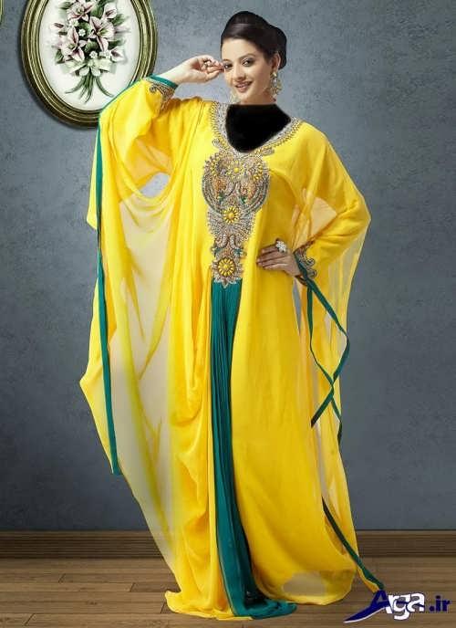 مدل لباس زرد کردی