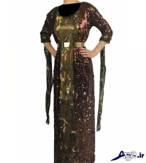 مدل لباس کردی طرح دار