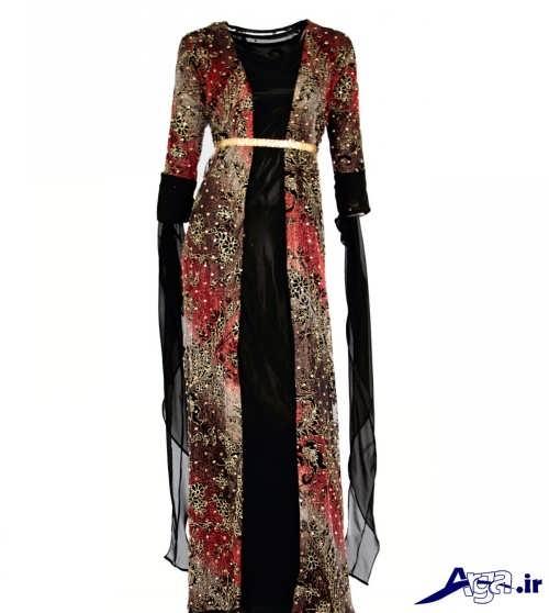 لباس کردی طرح دار و زیبا