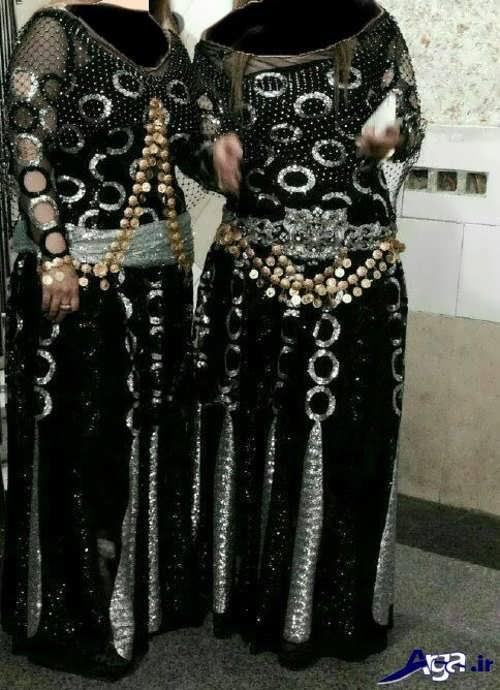 انواع طرح های دستمال کردی مدل لباس کردی مجلسی زنانه و دخترانه جدید و بسیار زیبا